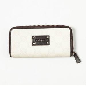 LOEWE – Leather Logo Zippered Wallet